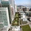 Transbay City Park from above